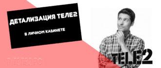 13 Детализация Теле2 в личном кабинете