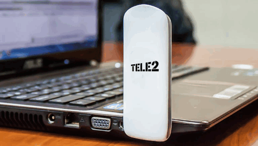 Подключение модема Теле2