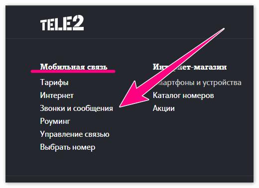 Звонки и сообщения