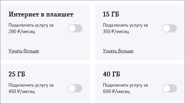 Интернет для устройств Теле2 Калуга