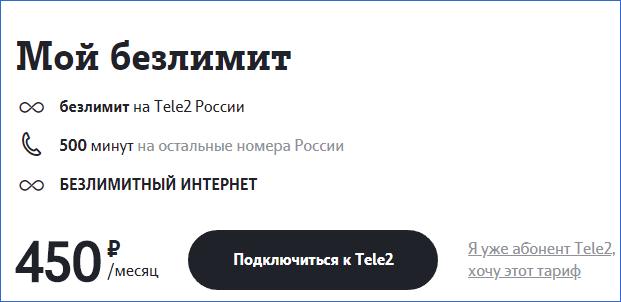 Мой безлимит Теле2 Ижевск