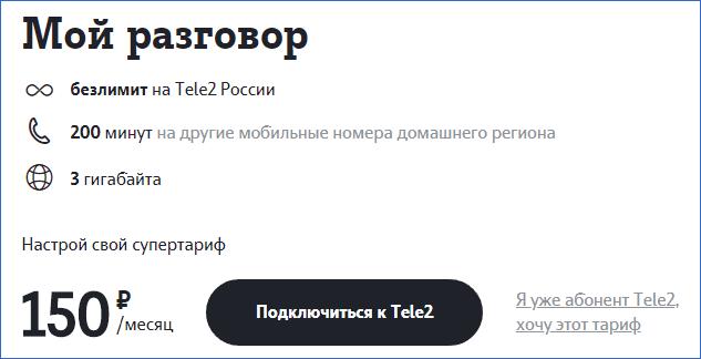 Мой разговор Теле2 Владивосток