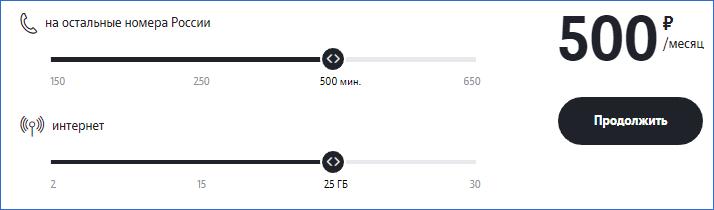 Регулировка пакета Теле2 Великий Новгород