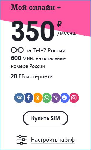 тариф2 теле2