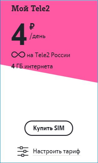 тариф4 теле2