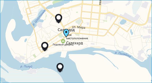 Офисы продаж Теле2 в Ямало-Ненецком АО