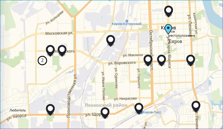 Салоны связи в Кирове